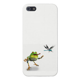Ribbit Goes to lunch iPhone SE/5/5s Cover