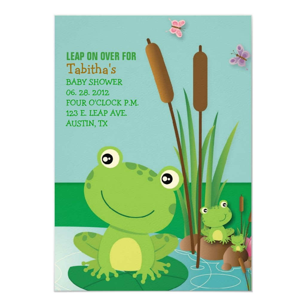RIBBIT RIBBIT Invitation