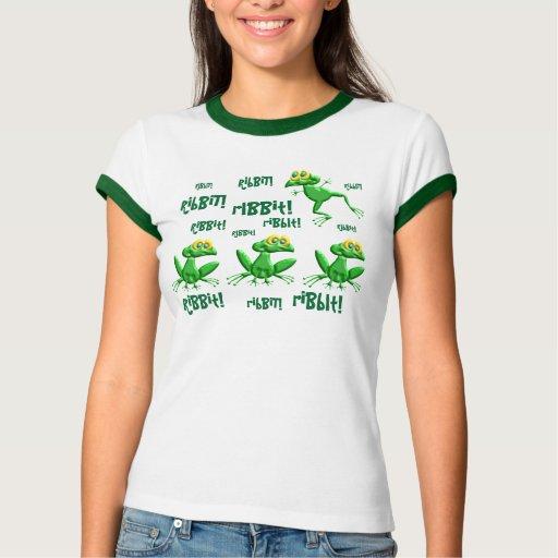 Ribbit! Shirts