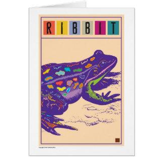 Ribbit-Tarjeta