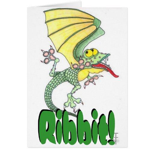 ¡Ribbit! Tarjeta de la Todo-Ocasión