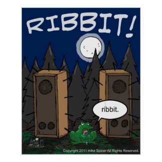 Ribbit-The Poster