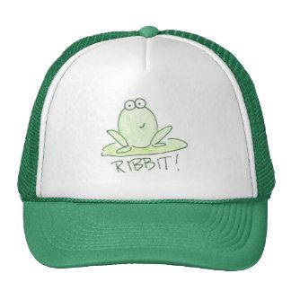 RIBBIT! TRUCKER HAT
