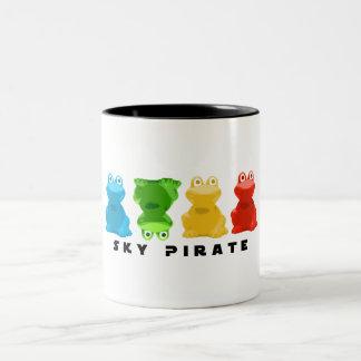 """Ribbit"" Two-Tone Mug"