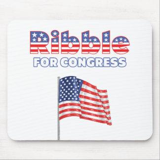 Ribble for Congress Patriotic American Flag Mousepads