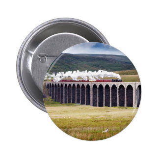 Ribblehead Viaduct Button Badge