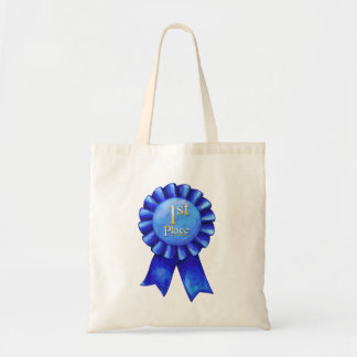 Ribbon 1st Place Canvas Bags