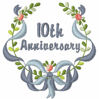 Ribbon and Floral -  Anniversary