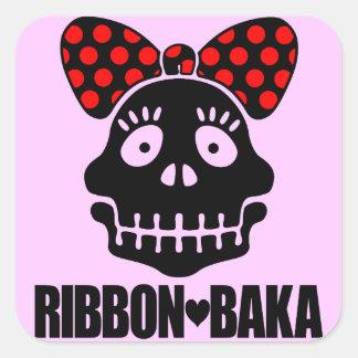RIBBON-BAKA STICKERS
