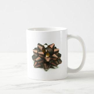 Ribbon bow coffee mug