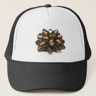 Ribbon bow trucker hat