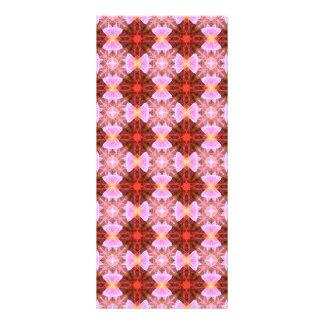 Ribbon bows pattern rack cards