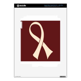 RIBBON BUDDHA DECALS FOR iPad 3