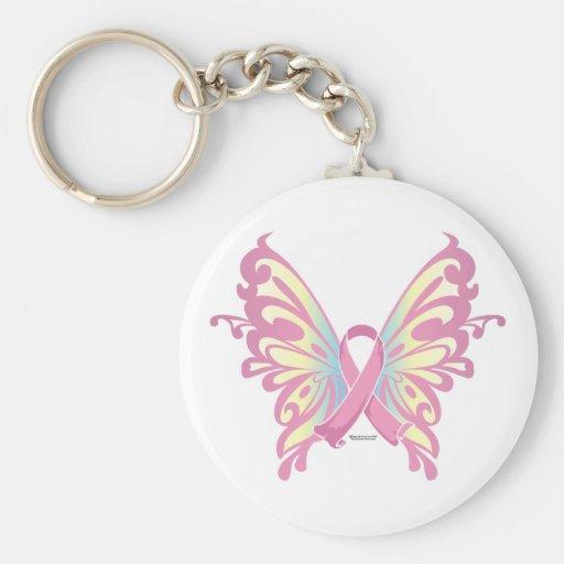 Ribbon Butterfly Keychain
