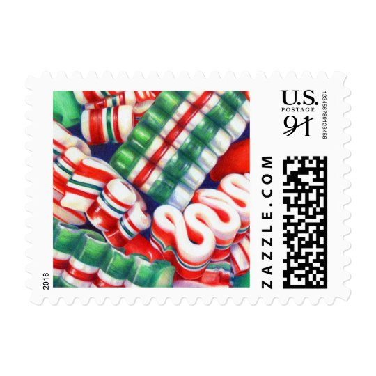 Ribbon Candy Postage