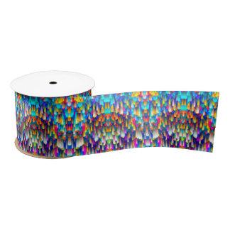 Ribbon Colorful digital art splashing