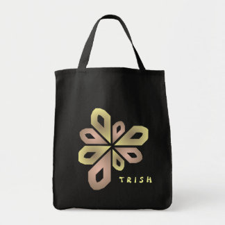 Ribbon Deco Design Tote Bags