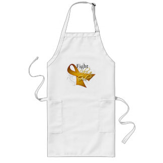 Ribbon - Fight Like a Girl - Appendix Cancer Aprons