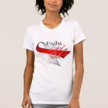 Ribbon - Fight Like a Girl - Oral Cancer Shirt