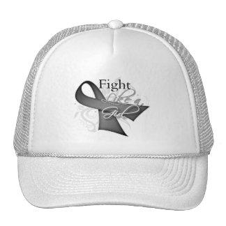 Ribbon - Fight Like a Girl - Parkinsons Disease Trucker Hat