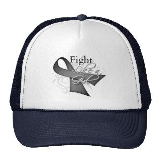 Ribbon - Fight Like a Girl - Parkinsons Disease Trucker Hats