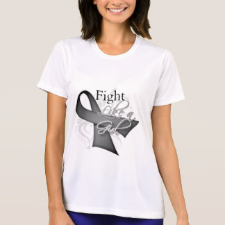 Ribbon - Fight Like a Girl - Parkinsons Disease T-shirts