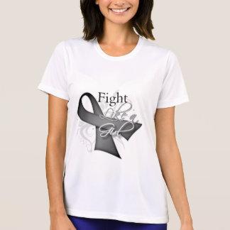 Ribbon - Fight Like a Girl - Parkinsons Disease T-shirts