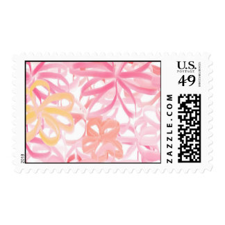 """RIBBON FLOWERS"" STAMPS"