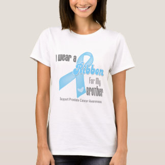 Ribbon For My Brother - Prostate Cancer T-Shirt