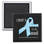 Ribbon For My Dad - Prostate Cancer Fridge Magnet