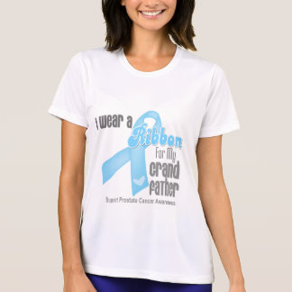 Ribbon For My Grandfather - Prostate Cancer T Shirts