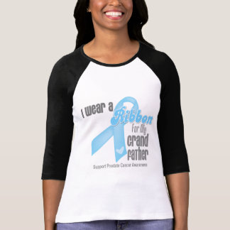 Ribbon For My Grandfather - Prostate Cancer Tee Shirts