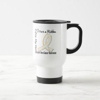 Ribbon For My Hero - Bone Cancer 15 Oz Stainless Steel Travel Mug