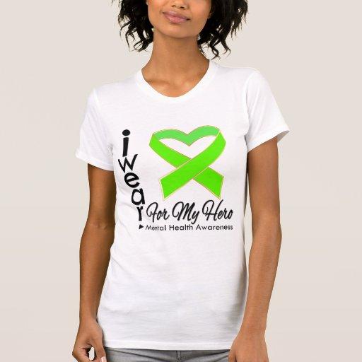 Ribbon For My Hero - Mental Health Awareness Tees