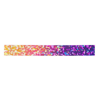 Ribbon Glitter Graphic Satin Ribbon