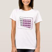 ribbon heart pink T-Shirt