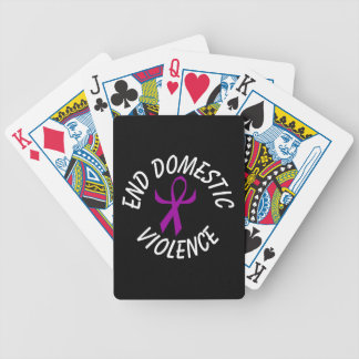 Ribbon (humanized) bicycle playing cards