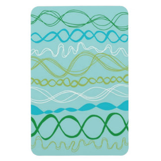 Ribbon Magnet in Turquoise