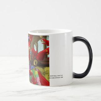 Ribbon Man morphing mug
