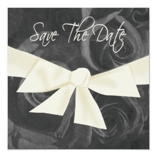 Ribbon n Roses Save the Date Card