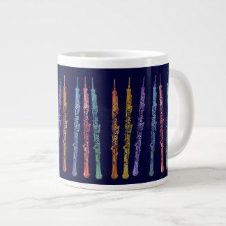 Ribbon of Oboes Giant Coffee Mug