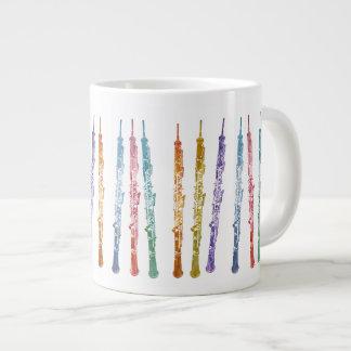 Ribbon of Oboes Large Coffee Mug