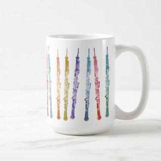Ribbon of Oboes Classic White Coffee Mug