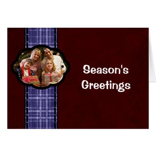 Ribbon Photo Greeting Card