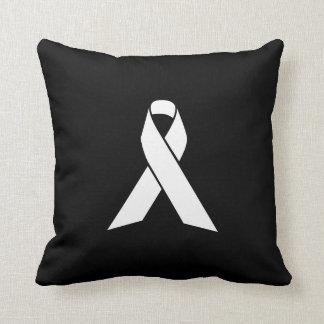 Ribbon Pictogram Throw Pillow
