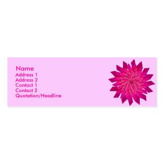 Ribbon Rose Profile Card