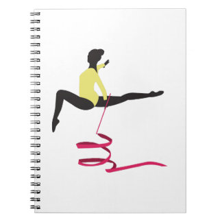 Ribbon Routine Spiral Notebooks