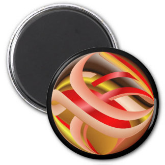 Ribbon Sphere Magnet