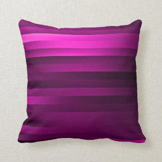 Ribbon Stripes Pillow - purples