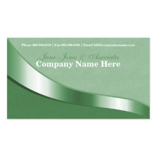 Ribbon Swirl Business Card